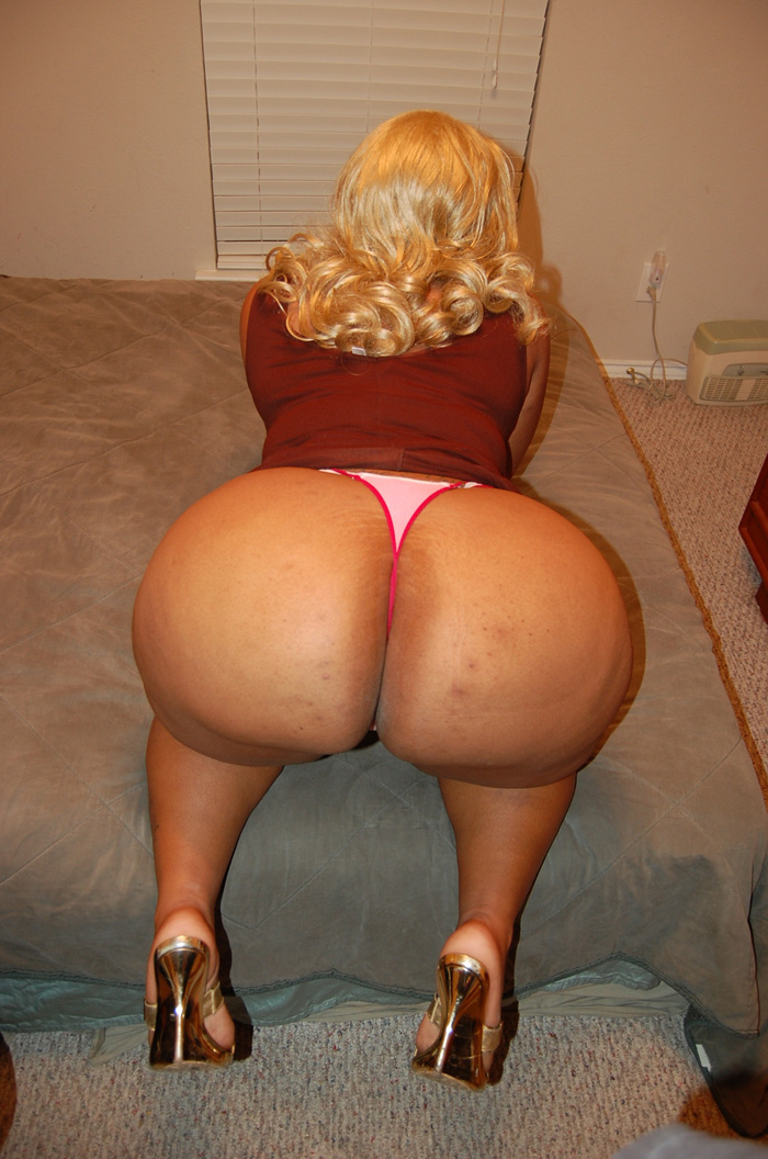 Black woman with big asses